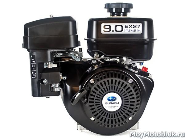 Двигатель Subaru Robin EX-27 Premium 9HP