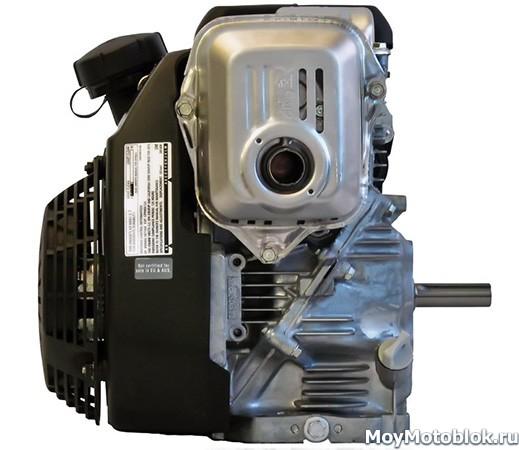 Honda GC190: расположение сбоку