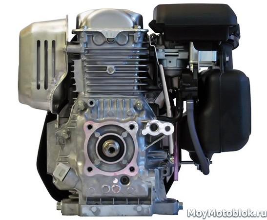 Двигатель Honda GC190, вид сзади