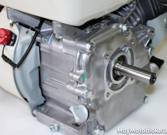 Honda GP160: расположение сбоку