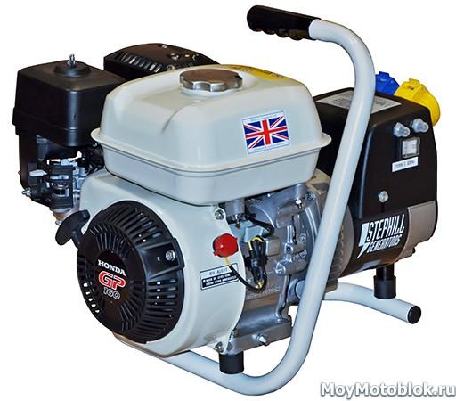 Двигатель Honda GP 160 на генераторе Stephill