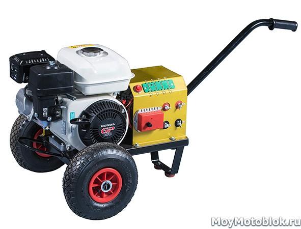 Двигатель Хонда GP160 на генераторе