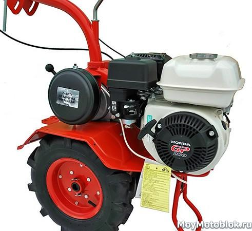 Двигатель Honda GP 200 на мотоблоке Агат