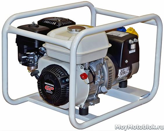 Мотор Хонда GP 200 на генераторе Stephill