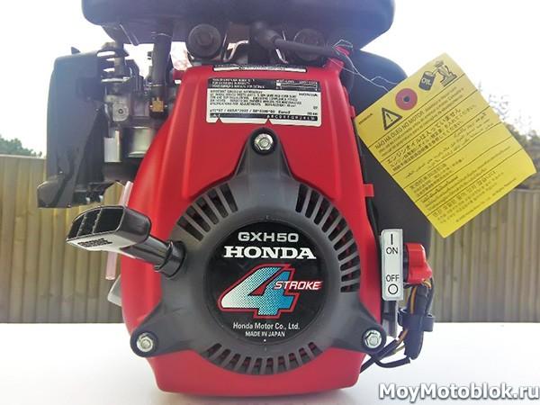 Двигатель Honda GXH-50: разновидность модели