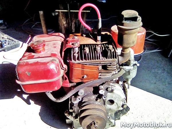 Мотор Кадви ДМ1 на мотоблоки