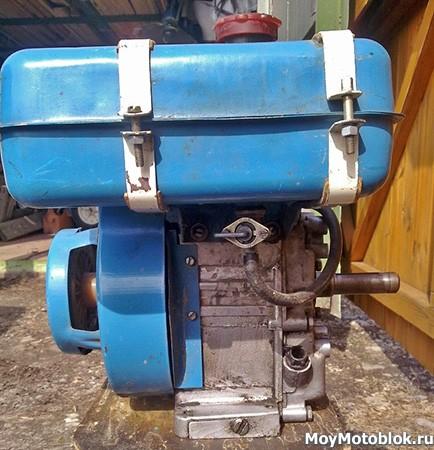 Двигатель Кадви ДМ-1Д сбоку