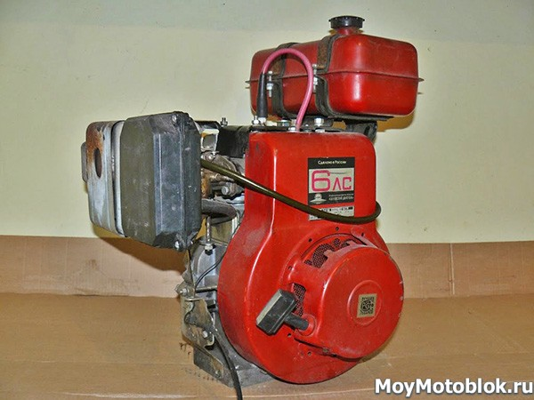 Двигатель Кадви ДМ-1М1 6.0 л. с.