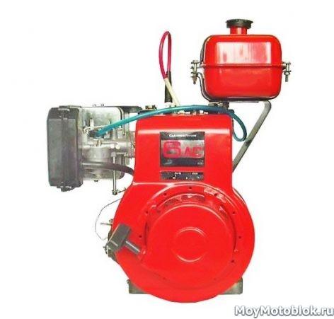 Двигатель Кадви ДМ-1М (1М1, 1М2) для мотоблока