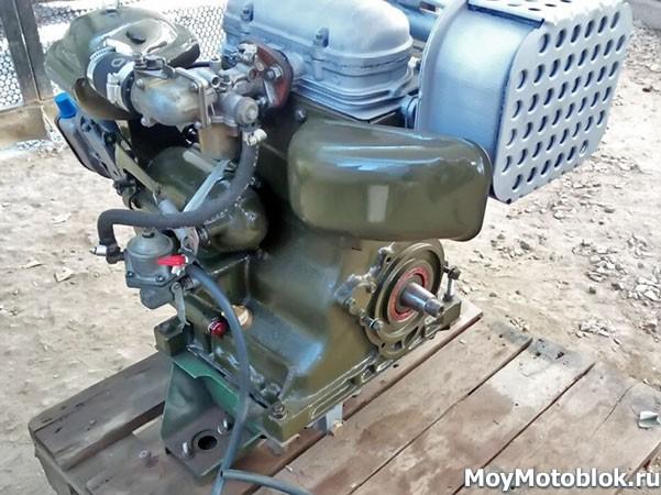 Двигатель СК-12 (СК12) сзади