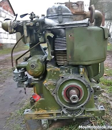Двигатель СК-6 (СК6) сзади