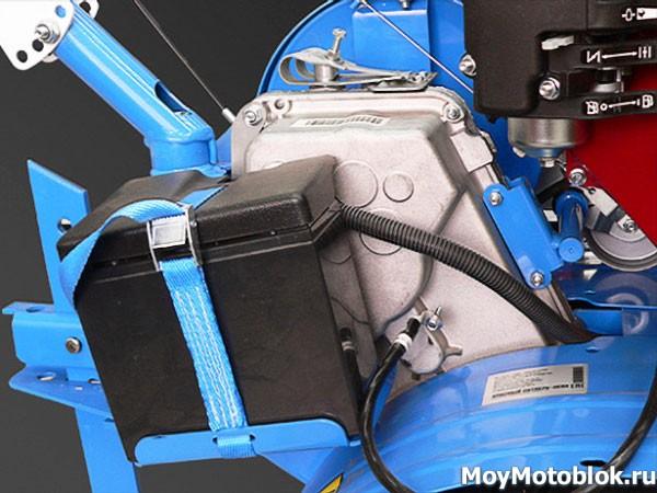 Мотоблок Нева 23Б-10 с аккумулятором